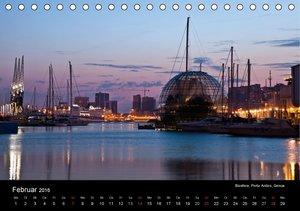 Ligurien - die italienische Riviera (Tischkalender 2016 DIN A5 q