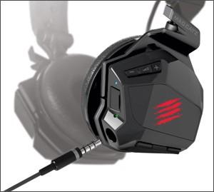 Mad Catz F.R.E.Q.M Wireless Stereo Headset, schwarz - zum Schließen ins Bild klicken