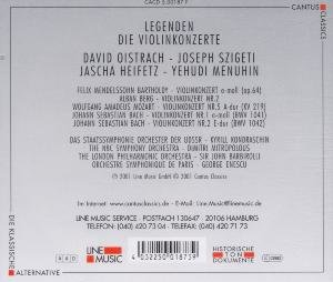 Legenden-Oistrach/Szigeti/He