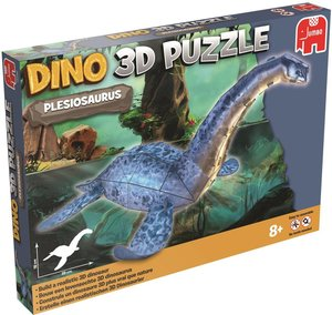 Dinosaurier Puzzle 3 D - Plesiosaurus - 38 Teile