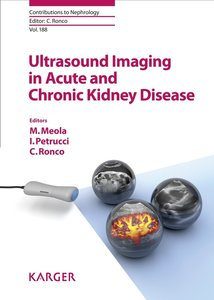 Ultrasound Imaging in Acute and Chronic Kidney Disease