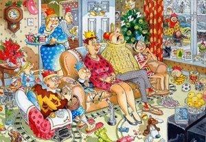 Jumbo Spiele 13522 - Original Christmas 5: Wasgij Weihnachts Puz