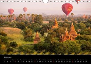 "Myanmar Colorful ""Golden Land"" (Wall Calendar 2015 DIN A4 Landsc"