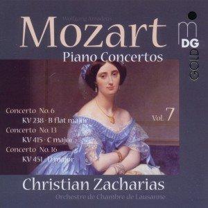 Klavierkonzerte Vol.7 13/KV 415+16/KV 451+6/KV 238