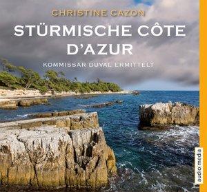 Stürmische Côte d'Azur.