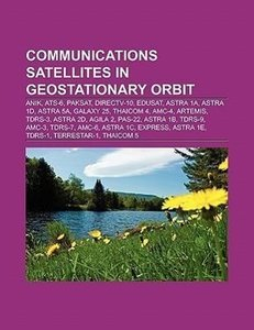 Communications satellites in geostationary orbit