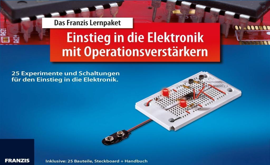 Lernpaket Einstieg in die Elektronik mit Operationsverstärker: 2 - zum Schließen ins Bild klicken
