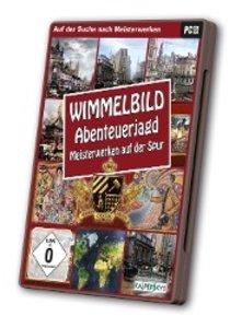 Wimmelbild: Abenteuerjagd - Meisterwerken auf der Spur
