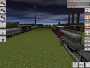 Rangierbahnhof Simulator. Windows Vista; XP