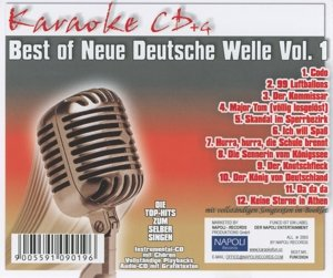 Best Of Neue Deutsche Welle Vol.1-Karaoke CDG