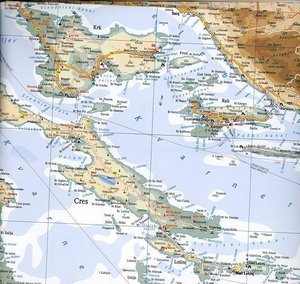 Croatia Travel Reference Map 1 : 325 000
