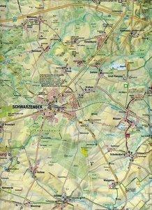 Maiwald Karte Sachsenwald Rad-, Reit- und Wanderkarte Sachsenwal