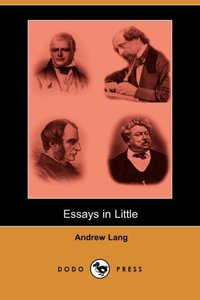 ESSAYS IN LITTLE (DODO PRESS)