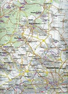 Bikeline Radkarte Deutschland Rhein-Main Taunus 1 : 75 000