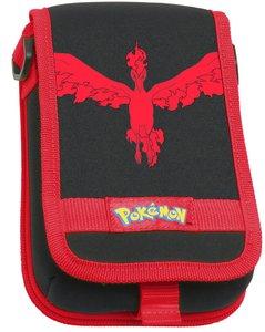 Pokemon GO - Tasche für Nintendo New 3DS, schwarz-rot