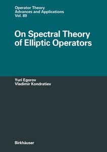 On Spectral Theory of Elliptic Operators