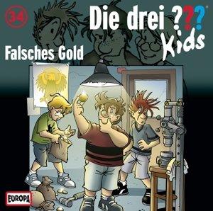 Die drei ??? Kids 34: Falsches Gold (Fragezeichen)