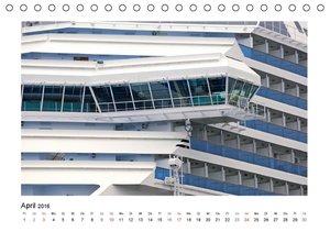 Schiffe (Tischkalender 2016 DIN A5 quer)