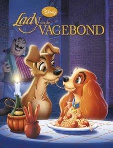 Disney verhalenboek Lady en de Vagebond / druk 1
