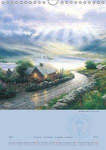 Kinkade, T: Thomas Kinkade: Landhäuser (Wandkalender 2015 DI