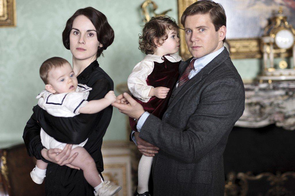 Downton Abbey - Staffel 4 - zum Schließen ins Bild klicken