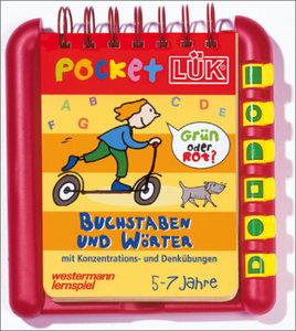 pocket LÜK - Buchstaben und Wörter / Set