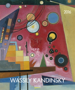Wassily Kandinsky 2017 Kunst Art Kalender