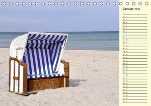 Die Ostsee (Tischkalender 2016 DIN A5 quer)