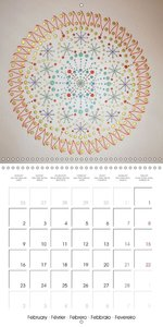Sacred Geometry Healing (Wall Calendar 2015 300 × 300 mm Square)