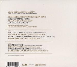 Impressions of John Coltrane - zum Schließen ins Bild klicken