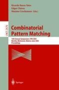 Combinatorial Pattern Matching