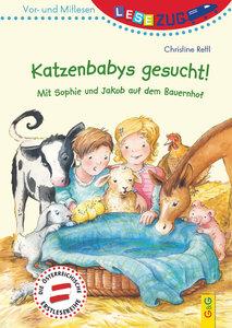 LESEZUG/Vor- und Mitlesen: Katzenbabys gesucht!