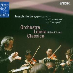 Sinfonien 23,26 & 31