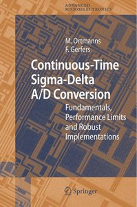 Continuous-Time Sigma-Delta A/D Conversion