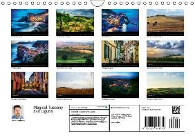 Magical Tuscany and Liguria (Wall Calendar 2015 DIN A4 Landscape - zum Schließen ins Bild klicken