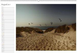 Nordsee-Dünen, Vintage-Style / Geburtstagskalender