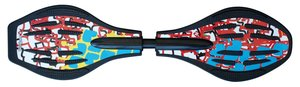 Streetsurfing Waveboard: The Wave Quake Red