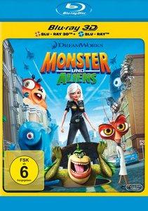 Monster und Aliens - Glibbern statt Bibbern 3D