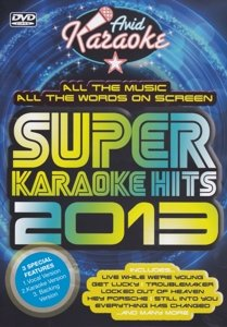 Super Karaoke Hits 2013 (DVD)
