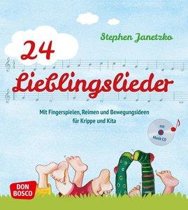 24 Lieblingslieder, mit Audio-CD
