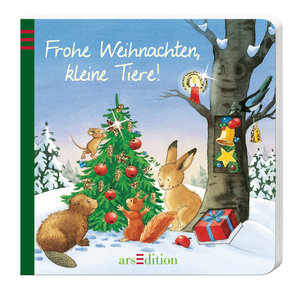 Frohe Weihnachten, kleine Tiere!