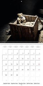 Sammy visits abandoned places (Wall Calendar 2015 300 &times 300