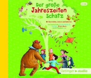Der große Jahreszeitenschatz (4CD) Mit Geschichten, Liedern und