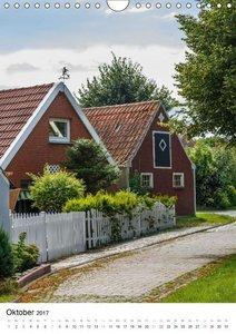 Rysum, ein Dorf in Ostfriesland (Wandkalender 2017 DIN A4 hoch)