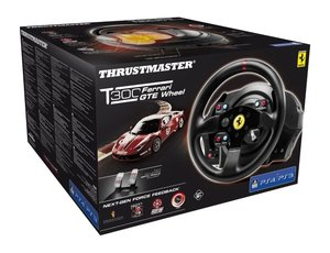 Thrustmaster T300 Ferrari GTE Racing Wheel + Pedale (PS3/PS4/PC)