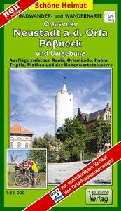 Pößneck, Neustadt an der Orla und Umgebung 1 : 35 000. Radwander