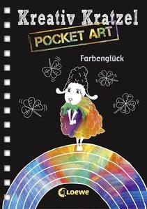 Kreativ-Kratzel Pocket Art: Farbenglück