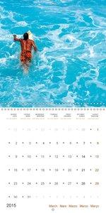 Colors of Hawaii (Wall Calendar 2015 300 × 300 mm Square)