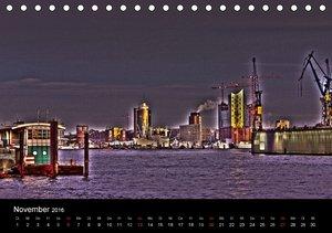 Hamburg HDR (Tischkalender 2016 DIN A5 quer)