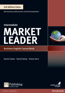 Market Leader Extra Intermediate Coursebook with DVD-ROM and MyE